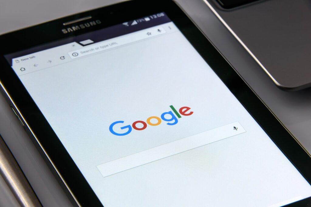 google on your smartphone, search, internet