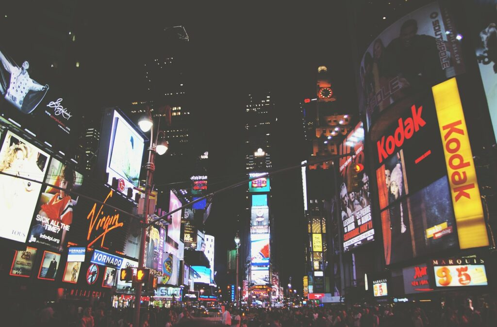 times square, new york, broadway